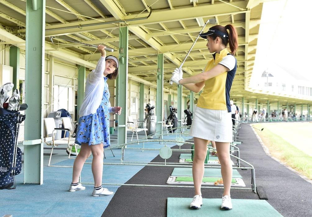 ゴルフ初心者用練習メニュー